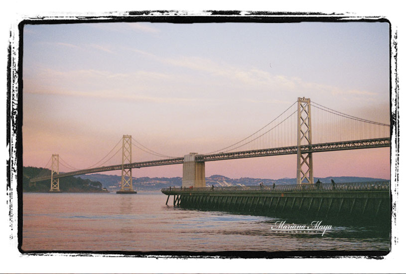 Bay bridge SF tourist attraction landmark