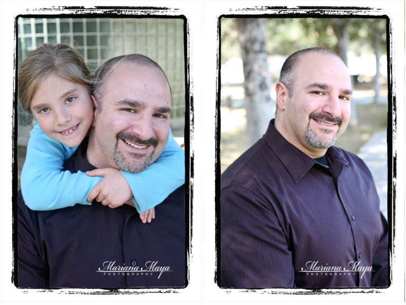 father daughter portraits!