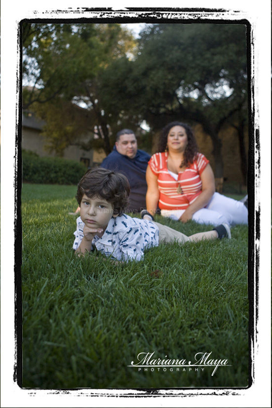 family portraits in California at Stanford University