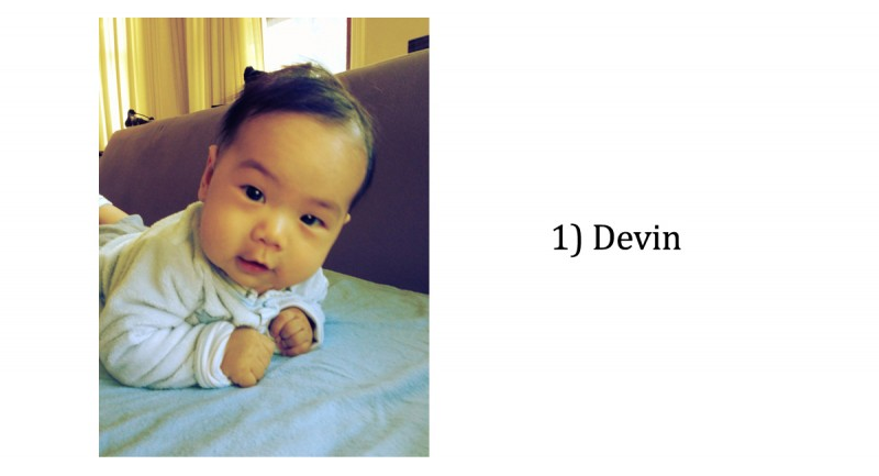 vote for the cutest baby of 2012