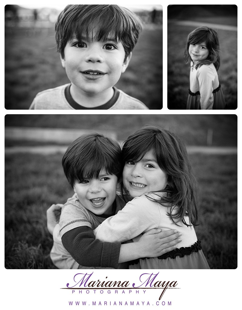 Black & White portraits of children