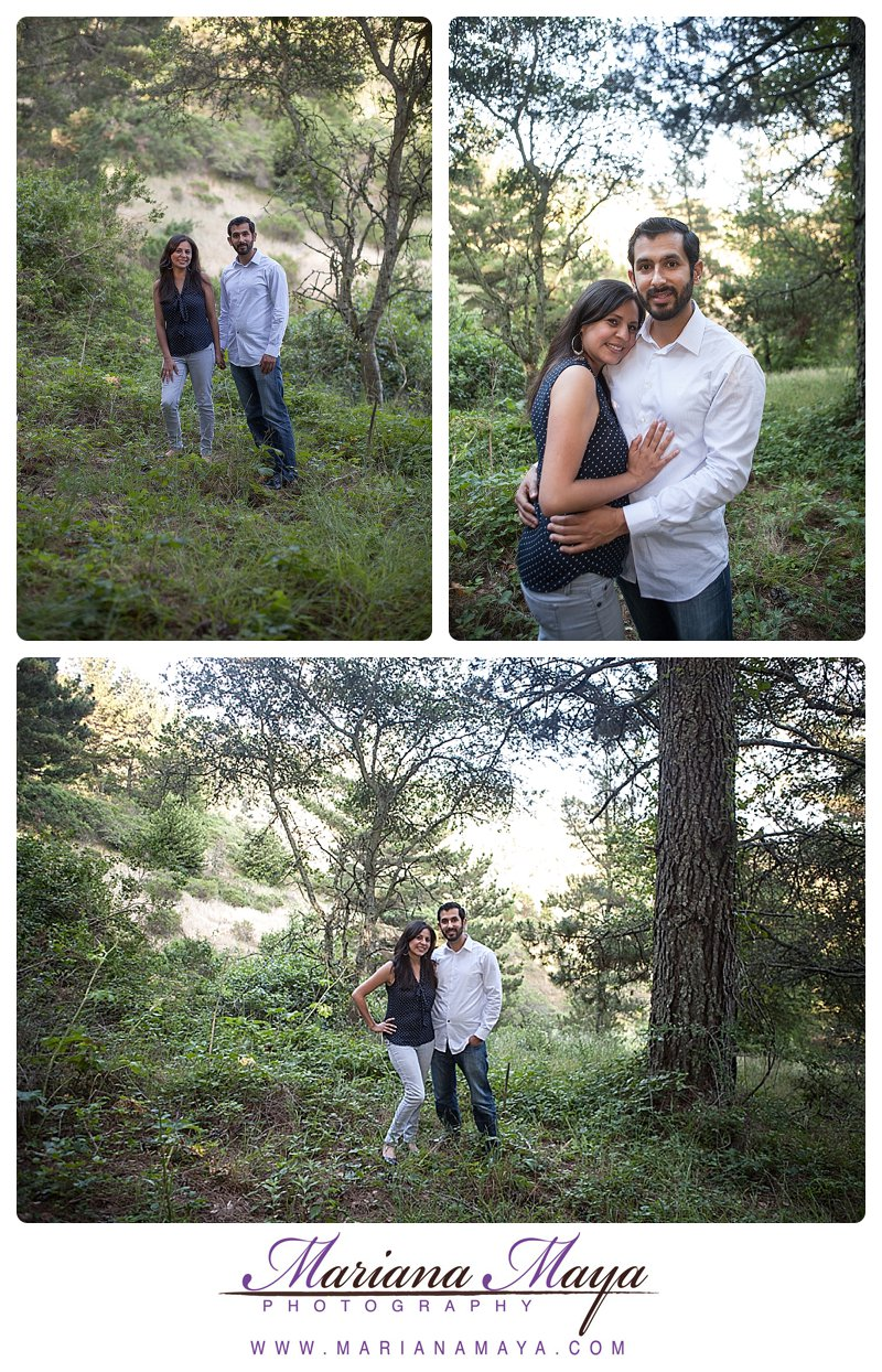 hiking portrait love session