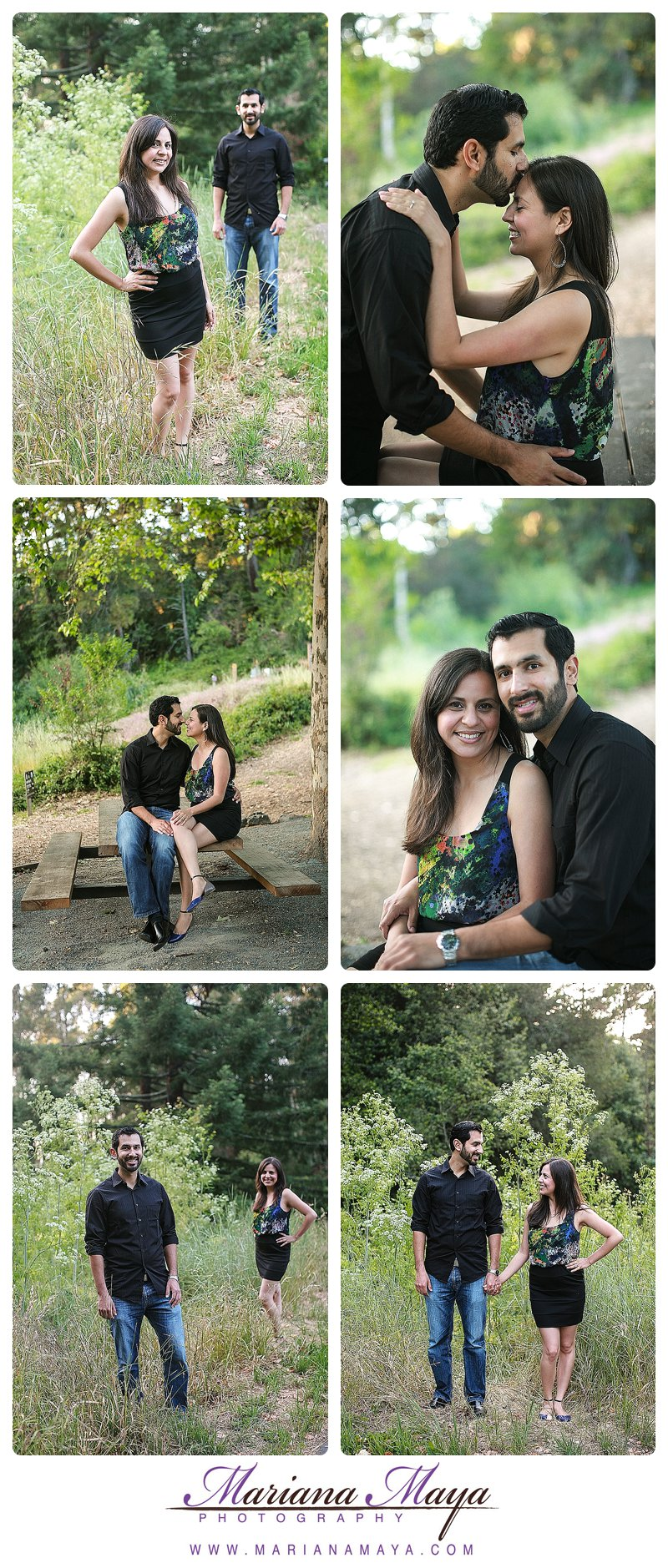 Engagement session, hiking session