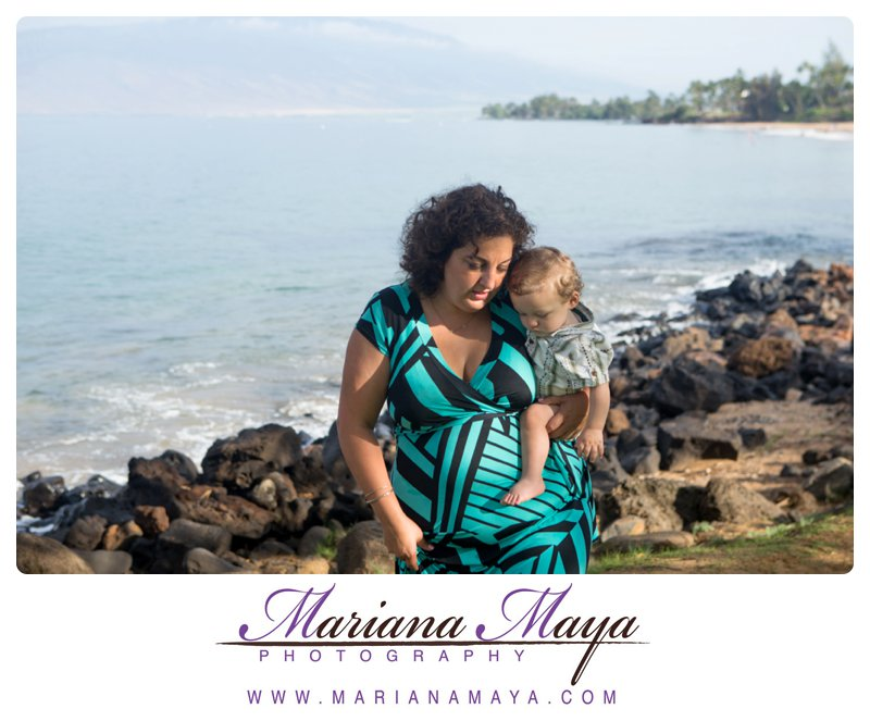 baby portraits in Maui, Hawaii
